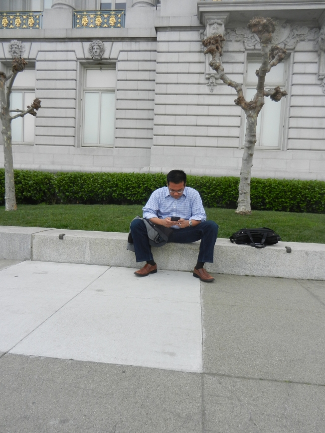 San Francisco City Hall, 12 March 2015.