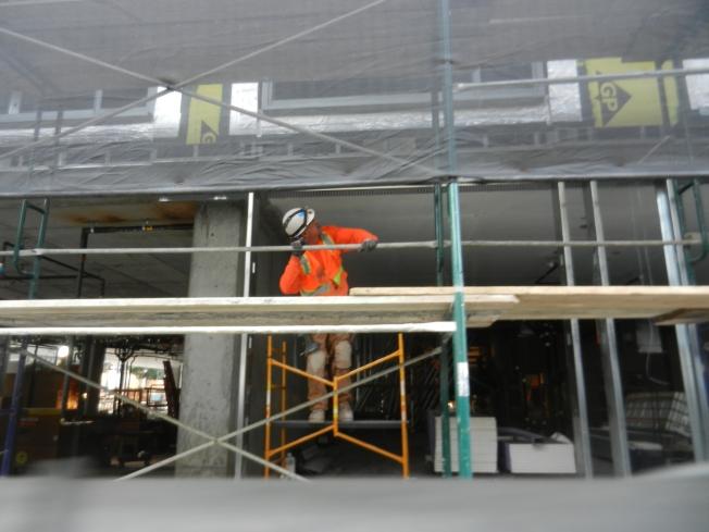 Construction Worker, Hayes & Polk, San Francisco, California