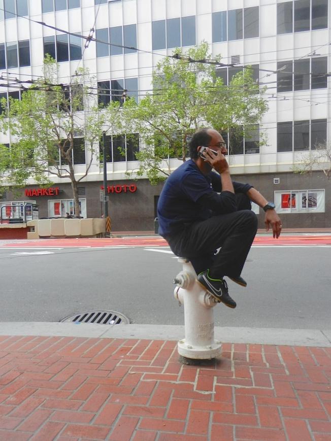 Market Near Van Ness, San Francisco, California, 3:01 p.m., 11 March 2015.