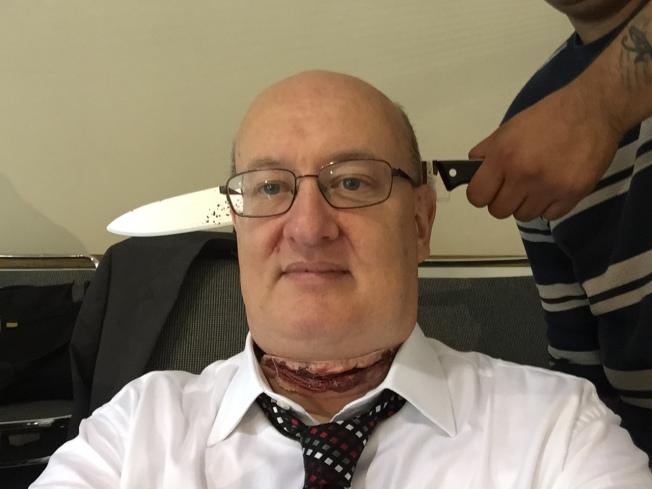 A Bit of a Headache & A Bit of a Sore Throat, 26 May 2015.