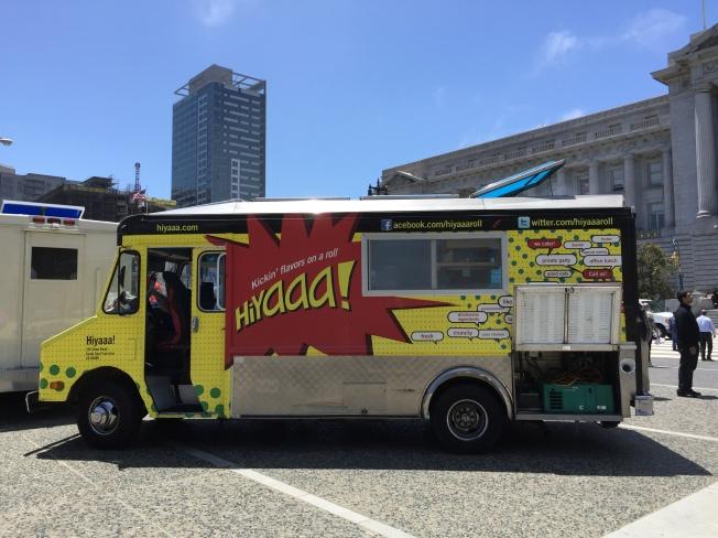 HiYAAA! Food Truck, 5 June 2015.