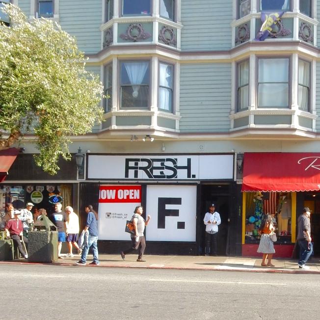 FRESH, Haight Street, 2 August 2015