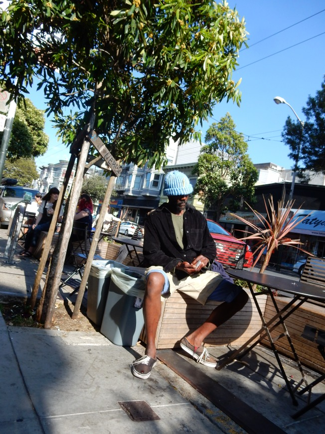 Outside the Grocery Store, Haight Street, 2 August 2015