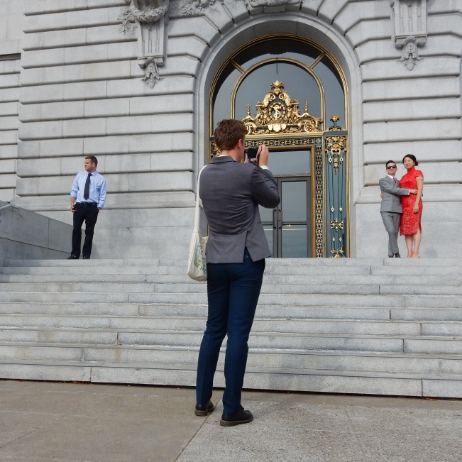 Wedding Photographer at City Hall, 28 August 2015.