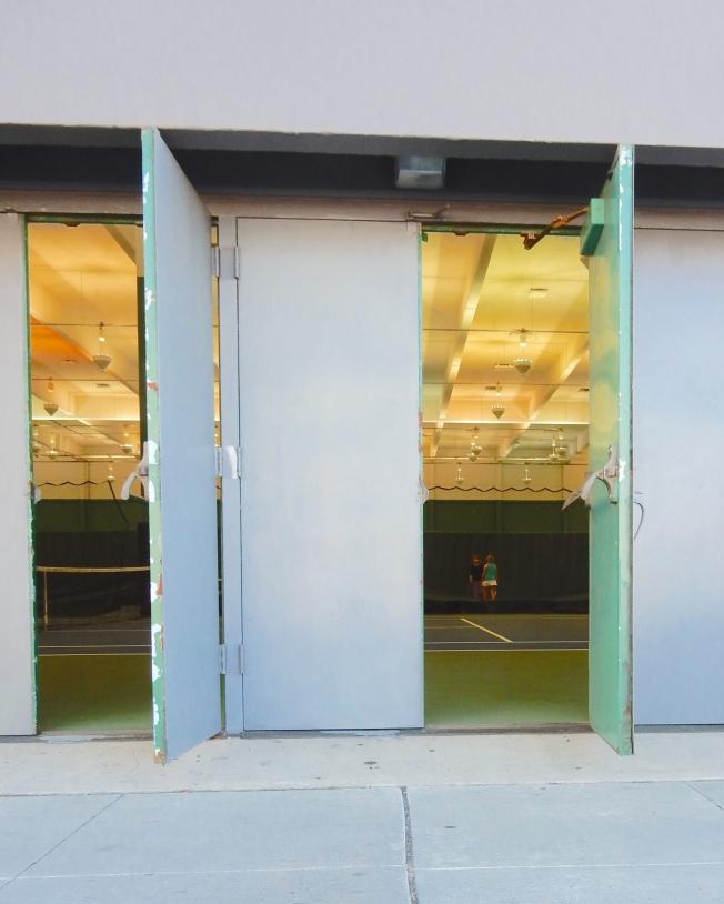 Indoor Tennis Facility, San Francisco, CA, 3 October 2015.