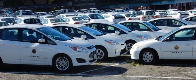 City Vehicle Yard, San Francisco, CA 19 December 2015, 1:26 p.m.